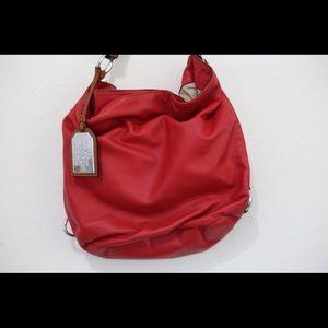 Red Boho bag
